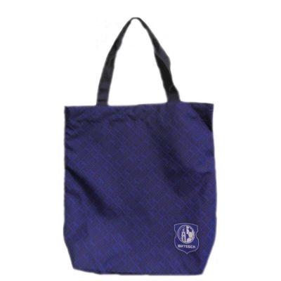 Сумка-шоппер с малым логотипом